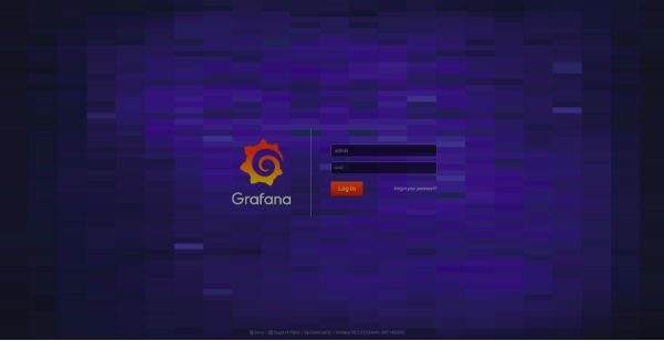 Grafana-captura-login