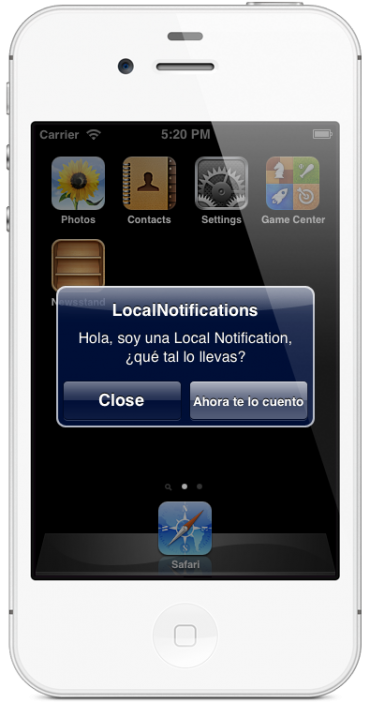 Local Notification
