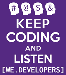 keepcoding and listen
